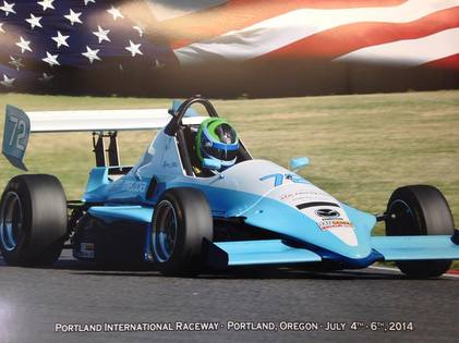 the formula mazda is an open wheel race car which is adaptable to both oval tracks and road courses it is a spec formula car meaning that under